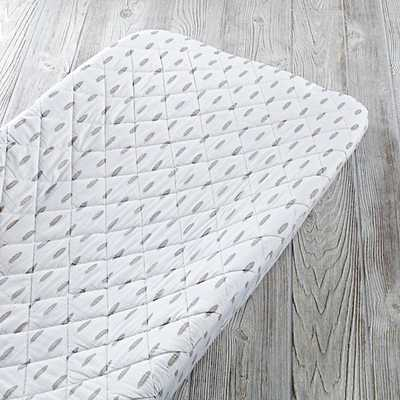 Feather Iconic Changing Pad Cover - Land of Nod