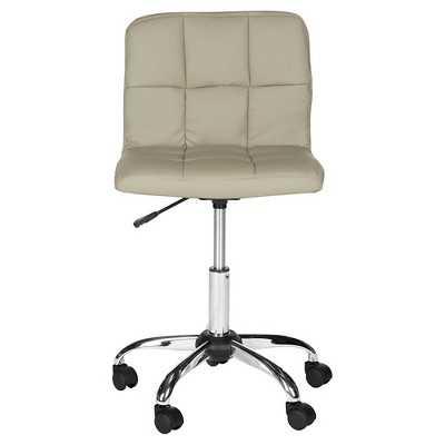 Safavieh Brunner Desk Chair - Grey - Target