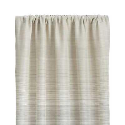 "Wren 50""x96"" Curtain Panel - alternate - Crate and Barrel"