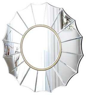 Embassy Round Wall Mirror - One Kings Lane