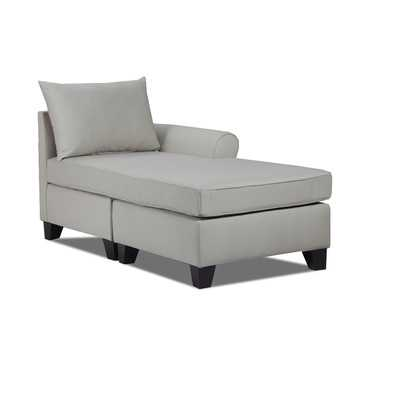 Belle Meade Left Chaise Lounge - Light Slate - Wayfair