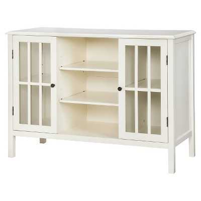"Thresholdâ""¢ Windham 2 Door Cabinet with Center Shelves - Target"