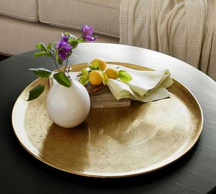 Etched Brass Tray - Pottery Barn