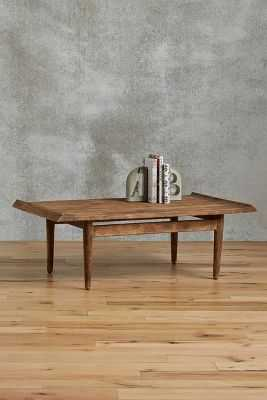 """Burnished Wood Coffee Table - 49"""" - Anthropologie"""