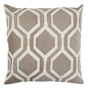 Pandora Pillow 24''Sq/ insert included - Z Gallerie