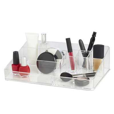 Clearly Chic 9 Compartment Cosmetic Organizer - Wayfair