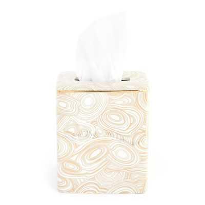 Malachite Tissue Cover - Wayfair