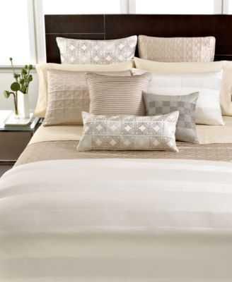 Hotel Collection Woven Cord Queen Duvet Cover - Macys