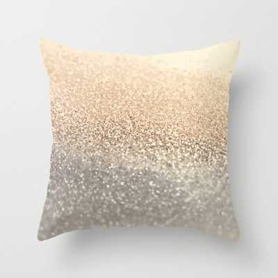 "THROW PILLOW/INDOOR COVER (18"" X 18"") FAUX DOWN INSERT - Society6"
