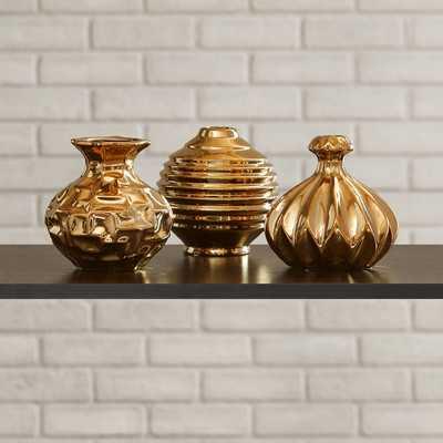 Sawyer 3 Piece Table Vase Set - Wayfair