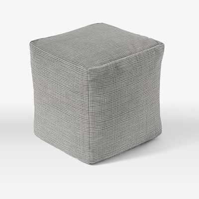 """Special Order Pouf - 16""""sq. - Cover + Insert - West Elm"""