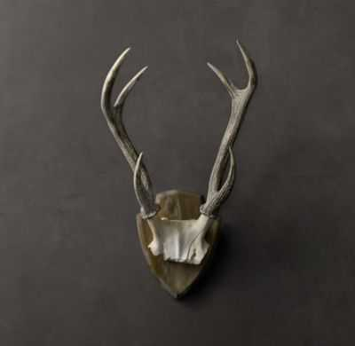 DEER ANTLERS IN CAST RESIN - RH