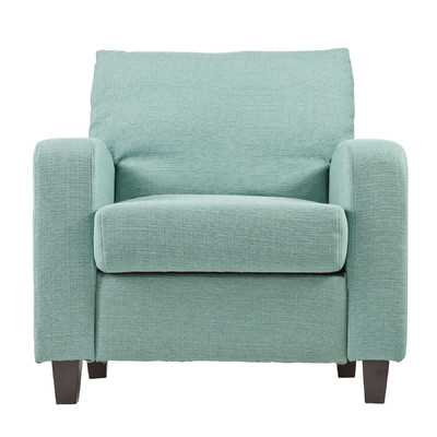 Adeline Arm Chair-Turquoise - Wayfair