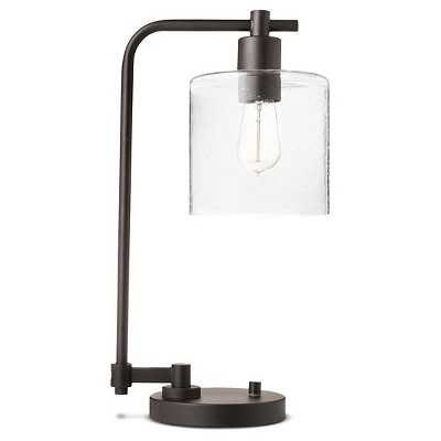 "Hudson Industrial Table Lamp - Ebony - Thresholdâ""¢ - Target"