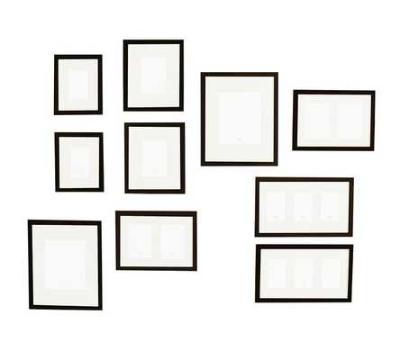 GALLERY IN A BOX, SET OF 10 FRAMES - Pottery Barn