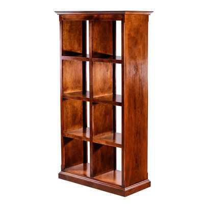 Traditional Alder Display Bookcase-Coffee Alder - Wayfair