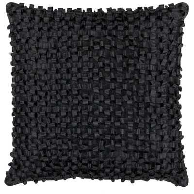 Isabelle Decorative Throw Pillow - Slate - 22x22 - Poly Insert - Wayfair