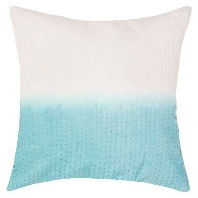 "Ecom Decorative Pillow Jaipur Mineral Blue-20""x20""-Insert - Target"