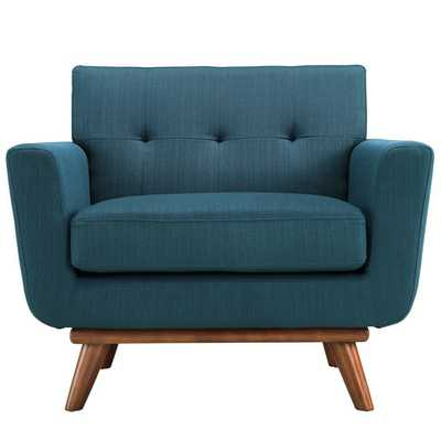 Engage Arm Chair - Azure - AllModern