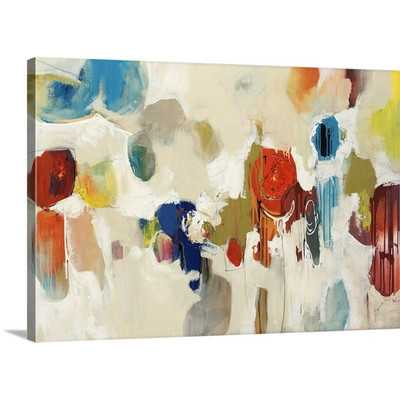 Gum Drop by Sydney Edmunds Graphic Art on Gallery Wrapped Canvas - Wayfair