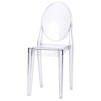 Sophia Ghost Clear Side Chair - Overstock