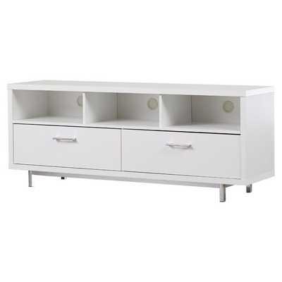 Monoceros TV Stand - White - AllModern