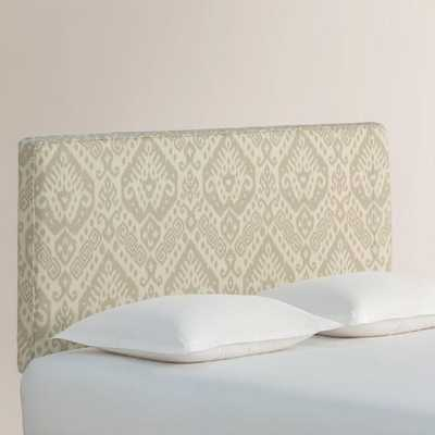 Dove Safi Loran Upholstered Headboard - Queen - World Market/Cost Plus