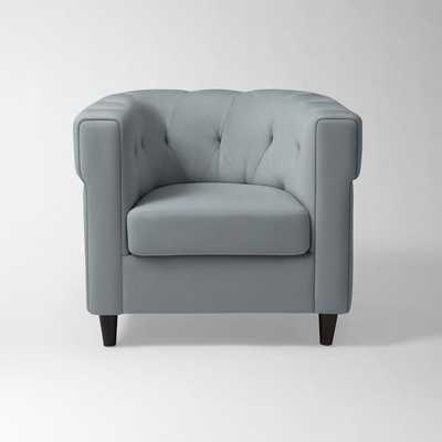 Chester Tufted Upholstered Chair - West Elm
