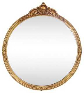 French Regency-Style Giltwood Mirror - One Kings Lane