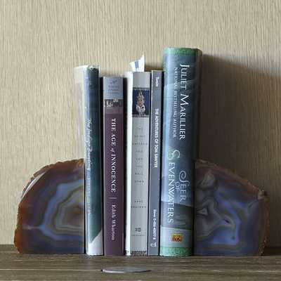 Agate Bookends- Set of 2 - West Elm