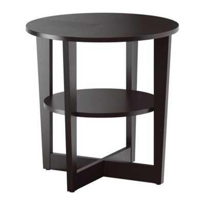 VEJMON Side table, black-brown - Ikea