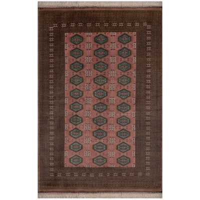 Safavieh One of a Kind Collection Hand-Knotted Bokhara Wool Rug - Overstock