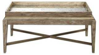 Durland Coffee Table, Natural - One Kings Lane