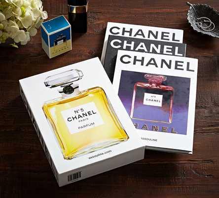 CHANEL: FASHION/FINE JEWELRY/PERFUME, SET OF 3 BOOKS BY FRANCOIS BAUDOT - Pottery Barn