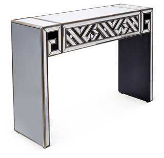 Mirrored Art Deco Console - One Kings Lane