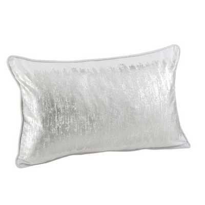 Agatha Metallic Banded Lumbar Pillow - AllModern