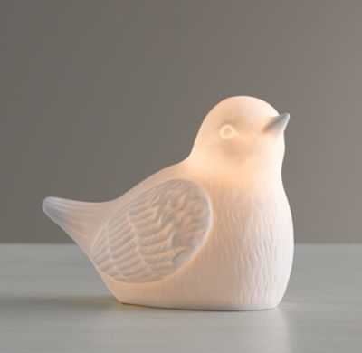 bird porcelain nightlight - RH Baby & Child