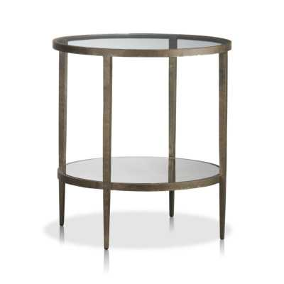 Clairemont Round Side Table - Crate and Barrel