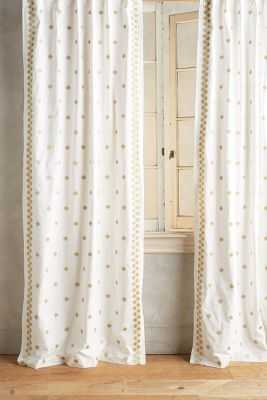 "Hallina Diamonds Curtain - 96"" - Anthropologie"