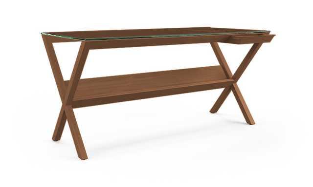 Nash Desk -Walnut - Joybird