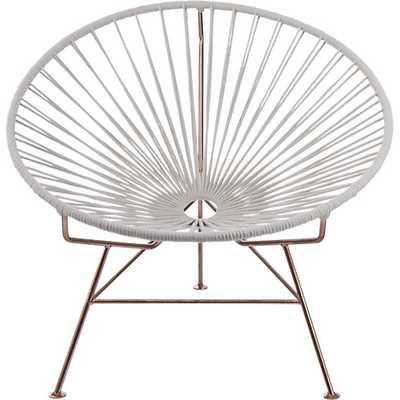 sayulita white chair - CB2