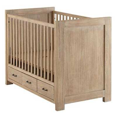 Whitewash Keepsake Crib - Land of Nod