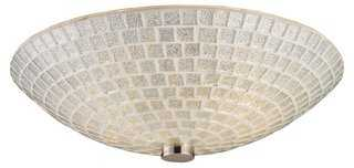 Fusion 2-Light Semi-Flush - One Kings Lane