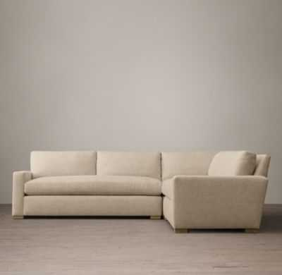 THE PETITE MAXWELL UPHOLSTERED CORNER SECTIONAL - RH