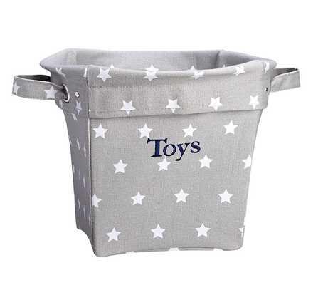 Star Medium Canvas Storage - Pottery Barn Kids