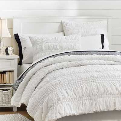 Ruched Quilt - Full - Pottery Barn Teen
