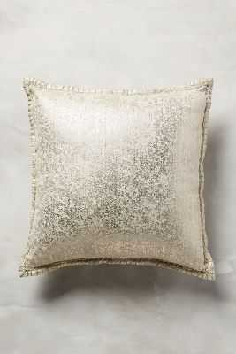 Crackled Patina Pillow - Anthropologie