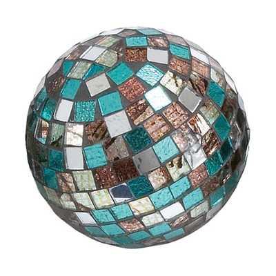 Mirror Mosaic Decorative Ball - AllModern