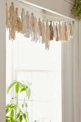 Plum and Bow Tassel Garland Banner - Urban Outfitters
