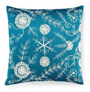 Dori Embroidered Pillow - One Kings Lane